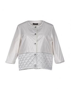 Куртка +MINI. Цвет: светло-серый