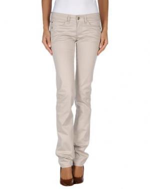 Повседневные брюки MAURO GRIFONI. Цвет: светло-серый
