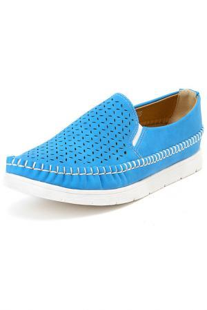 Туфли SPARKLING. Цвет: синий