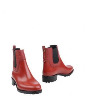 Полусапоги и высокие ботинки BORBONESE. Цвет: красный