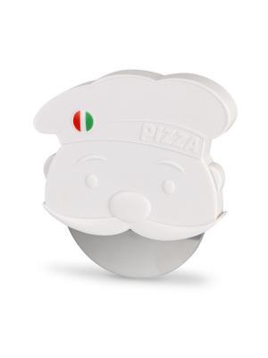 Нож для пиццы Pizzaiolo Balvi. Цвет: белый