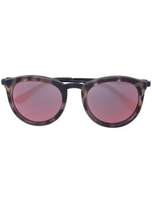 Круглые солнцезащитные очки Le Specs. Цвет: многоцветный