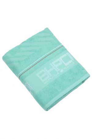 Банное полотенце, 80х150 Beverly Hills Polo Club. Цвет: green