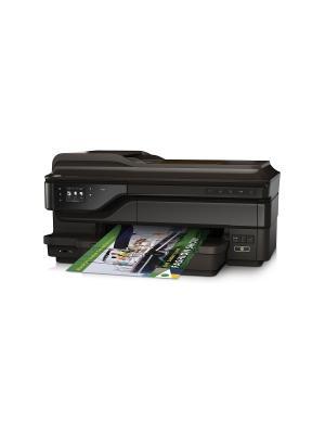 МФУ HP OfficeJet 7612, A3, цветной, струйный. Цвет: черный