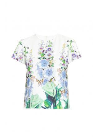 Блуза 160664 Infinee. Цвет: разноцветный