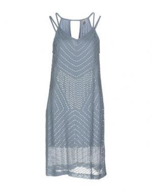 Платье до колена BLANK. Цвет: небесно-голубой