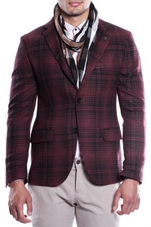 Пиджак MODACRISE. Цвет: красный