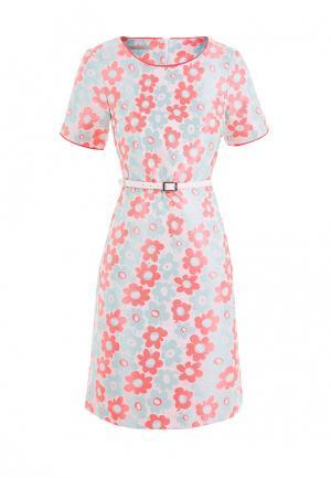Платье LO. Цвет: разноцветный