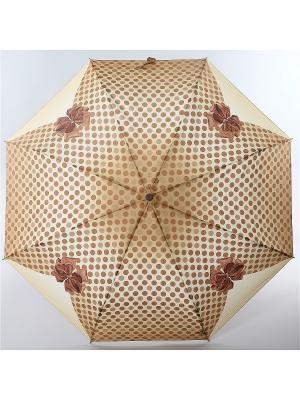 Зонт Airton. Цвет: коричневый, кремовый, персиковый