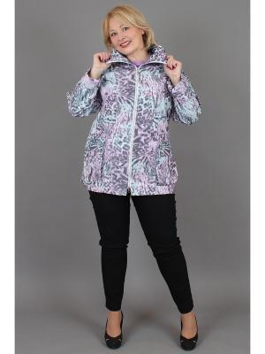 Куртка NadiN. Цвет: розовый, серый, голубой