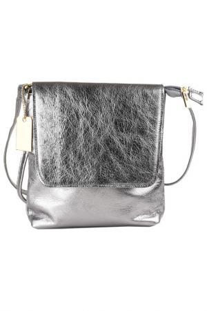Bag MATILDA ITALY. Цвет: metallic silver