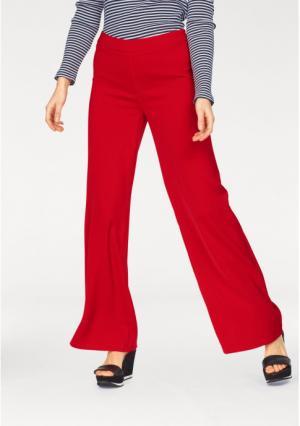 Брюки Aniston. Цвет: красный