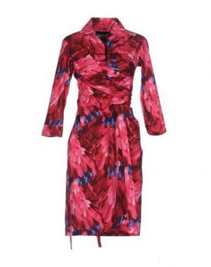 Короткое платье SAMANTHA SUNG. Цвет: фуксия