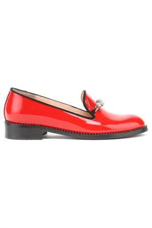 Туфли Zumita. Цвет: красный