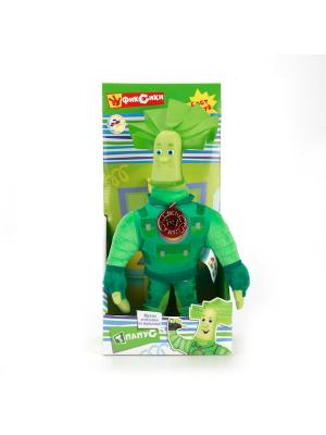 Мягкая игрушка Мульти-Пульти Фиксики. Папус 29 см, озвученный.. Цвет: зеленый, салатовый