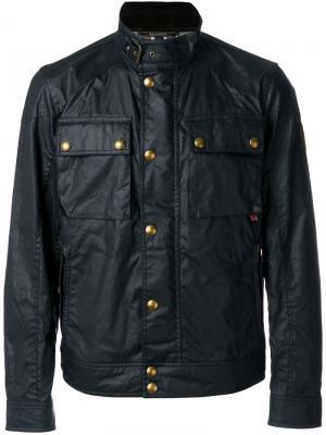 Куртка-бомбер Racemaster Belstaff. Цвет: синий
