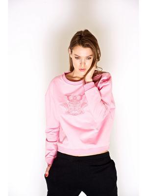 Свитшот iSwag. Цвет: розовый