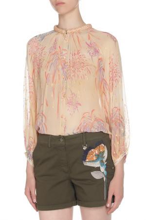 Блуза Tsumori Chisato. Цвет: кремовый