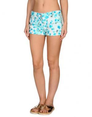 Пляжные брюки и шорты VDP BEACH. Цвет: небесно-голубой