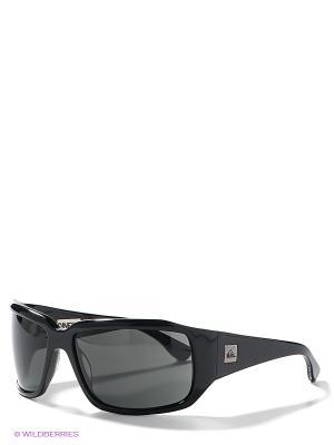 Солнцезащитные очки Quiksilver. Цвет: черный