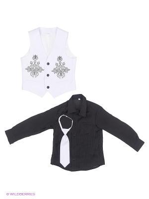 Комплект одежды Милашка Сьюзи. Цвет: белый