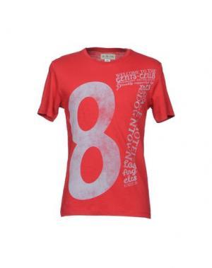 Футболка MCS MARLBORO CLASSICS. Цвет: красный