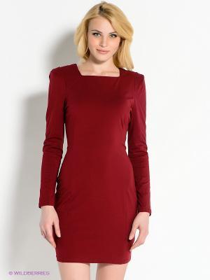Платье AX Paris. Цвет: темно-красный