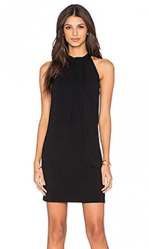 Платье sasha Michael Stars. Цвет: черный
