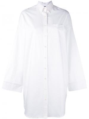 Oversized shirt Sandrine Rose. Цвет: белый