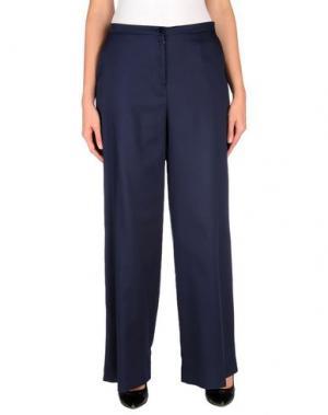 Повседневные брюки PURIFICACION GARCIA. Цвет: темно-синий