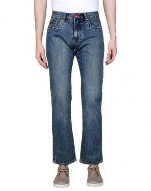 Джинсовые брюки ÉS. Цвет: синий