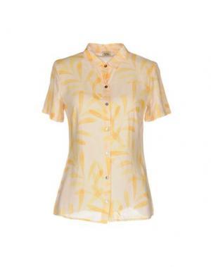 Pубашка SIYU. Цвет: желтый