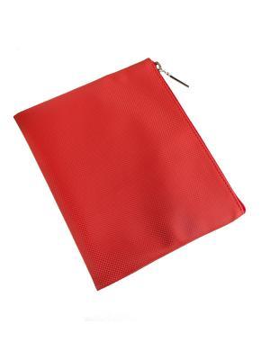 Косметичка плоская Norton (200х160мм) (красный карбон) Norton.. Цвет: красный