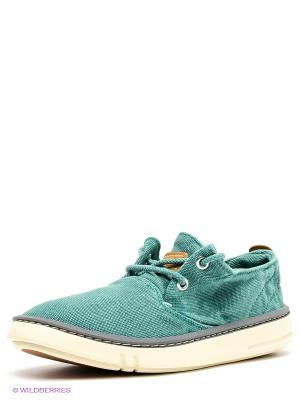 Ботинки TIMBERLAND. Цвет: зеленый