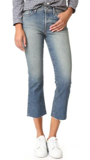Укороченные джинсы Maxwell Baldwin Denim. Цвет: traction