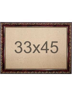 Рамка багетная р.33/45 Матренин Посад. Цвет: коричневый
