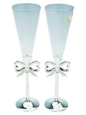 Набор бокалов, 2 пр. Marquis. Цвет: прозрачный, серебристый