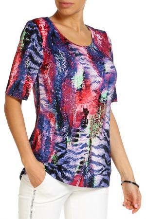 Блуза RITA PFEFFINGER. Цвет: мультицвет