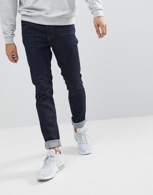 WESC Темные джинсы узкого кроя Alessandro. Цвет: синий