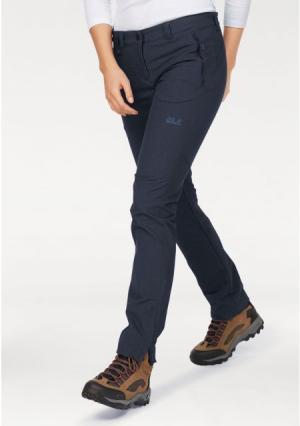 Функциональные брюки ACTIVATE SKY WOMEN Jack Wolfskin. Цвет: джинсовый синий меланжевый
