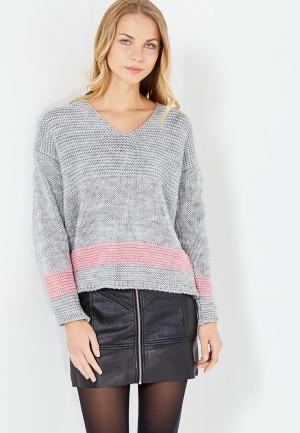 Пуловер MKM. Цвет: серый