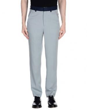 Повседневные брюки UMIT BENAN. Цвет: светло-серый