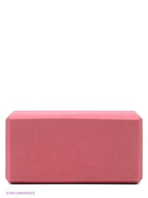 Кирпич для йоги из EVA-пены Yoga brick (красный) Ako-Yoga. Цвет: красный