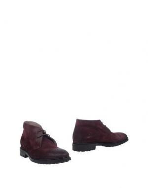 Полусапоги и высокие ботинки DOUCAL'S. Цвет: баклажанный