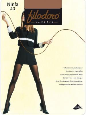 Колготки Filodoro Classic. Цвет: бежевый