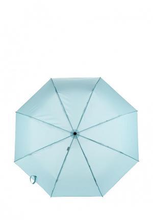 Зонт складной Labbra. Цвет: голубой