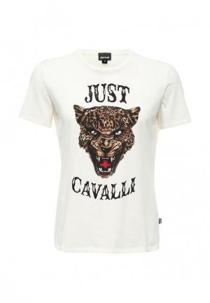 Футболка Just Cavalli. Цвет: белый