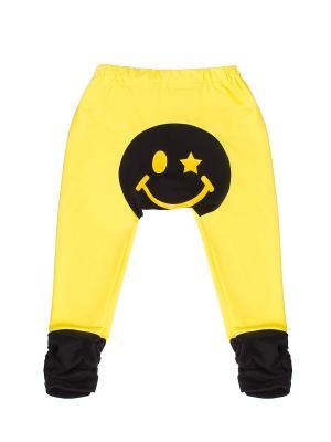 Штанишки для подгузников Yuumi Смайл. Цвет: желтый