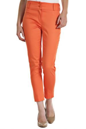 Брюки Figl. Цвет: оранжевый