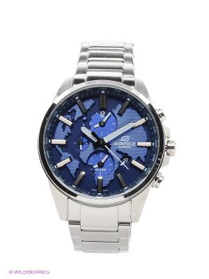 Часы Edifice ETD-300D-2A CASIO. Цвет: синий